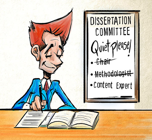 Dissertation committee chairperson